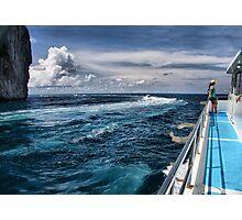 Leaving Monkey Island Photographic Print
