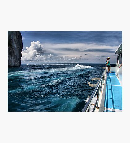 Leaving Monkey Island Photographic Print