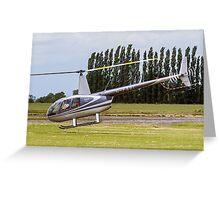 Robinson R44 Astro G-FABI Greeting Card