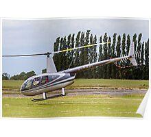 Robinson R44 Astro G-FABI Poster
