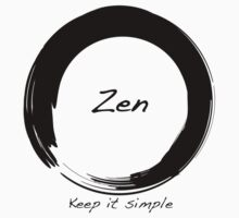 Zen; Keep it Simple by Heidi Hermes