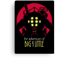 The Adventures of Big & Little Canvas Print