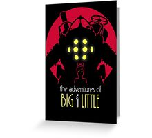 The Adventures of Big & Little Greeting Card