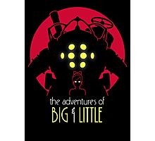 The Adventures of Big & Little Photographic Print