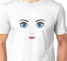 Girl face Unisex T-Shirt