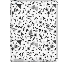 Zigzag Party - White by Andrea Lauren iPad Case/Skin
