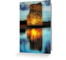 Carrigafoyle Castle Greeting Card