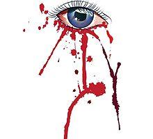 Eye with Blood by AnnArtshock