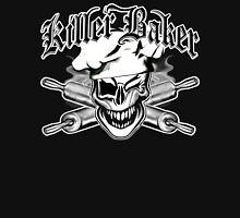 Baker Skull 7: Killer Baker and Crossed Rolling Pins Unisex T-Shirt
