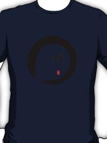 """Zen"" calligraphy & Enso circle of enlightenment T-Shirt"