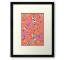 Dance is in the air Framed Print