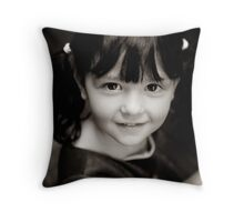 Pony tails Throw Pillow