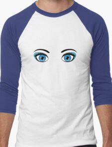 Anime eyes 6 Men's Baseball ¾ T-Shirt