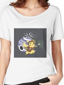 Pikawho!? Women's Relaxed Fit T-Shirt
