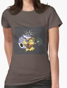 Pikawho!? Womens Fitted T-Shirt