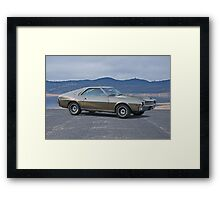 1968 AMC AMX 390 Framed Print