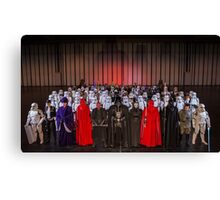 Winter Memorabilia - UK Garrison & Rebel Legion Canvas Print
