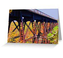 Bridge to No Where Greeting Card