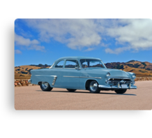 1952 Ford Customline Coupe Canvas Print