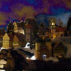 Twilight Christmas in the Alps - For David & Brad  by RoyAllen Hunt