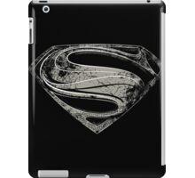 SUPERMAN | MAN OF STEEL BLACK iPad Case/Skin
