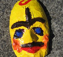 Grotesque Papier Mache Mask Project by stkevinsart