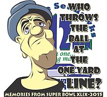 Who Throws The Ball At The One Yard Line? - #2 Photographic Print