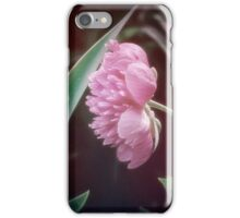 Peony with a Foliage Frame iPhone Case/Skin