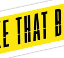Shake that Brass MV cut Sticker