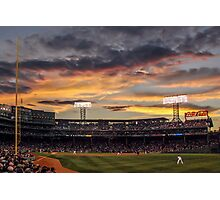 Fenway Sunset Photographic Print