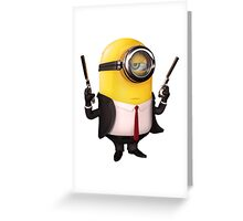Hit Minion Greeting Card