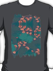 Medusa / Crazy Jellyfish Blue Atoll T-Shirt