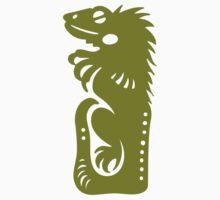 Iguana by Zehda