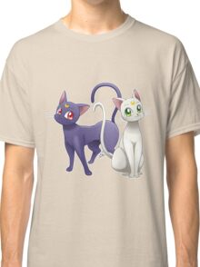Luna & Artemis (Sailor Moon Crystal edit.) Classic T-Shirt