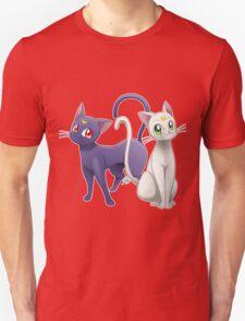 Luna & Artemis (Sailor Moon Crystal edit.) T-Shirt