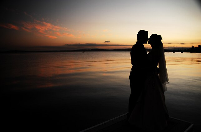 Sunset Kiss by Shannon  Dand