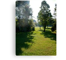 Weather report: sunny and hazy Canvas Print