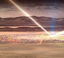 Burning Man 2014: Galaxy in the Dust by jasonphipps