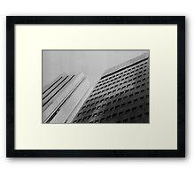 Tilt Framed Print