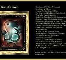 Enlightened Version 2  by Amber Elizabeth Fromm Donais
