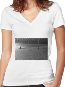 Isolation Women's Fitted V-Neck T-Shirt