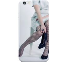 fishnet tights iPhone Case/Skin