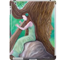 The Harpist and the Tree iPad Case/Skin