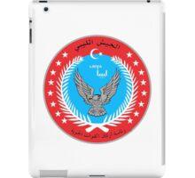 Emblem of the Libyan Air Force  iPad Case/Skin