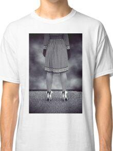 black and white Classic T-Shirt