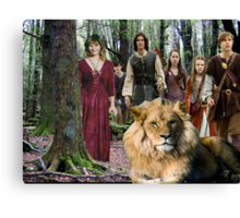 me and the Narnia crew Canvas Print