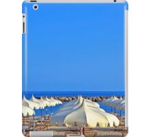 beach umbrellas iPad Case/Skin