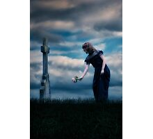 mourning Photographic Print