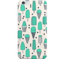 Ice Cream Season - Bright by Andrea Lauren iPhone Case/Skin
