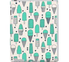 Ice Cream Season - Bright by Andrea Lauren iPad Case/Skin